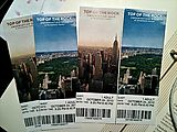 Top of the Rock - Tickets