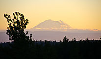 Mt Rainier - Sunset - Campsite