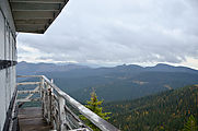 Salmo Mountain - Fire Lookout Tower