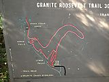 Granite Roosevelt Trail - Map - Sign (Photo by Laura)
