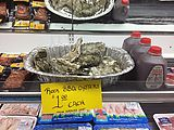 Metaline Falls - Supermarket - BBQ Oysters (Photo by Laura)