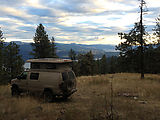 Bangs Mountain - Campsite - Sportsmobile - Sunset