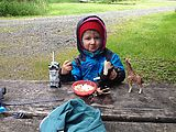 Camping - Breakfast - Lyra - Animals (Photo by Laura)