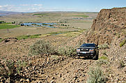 Saddle Mountains (West) - NW Road Up - Jeep WJ
