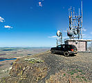 Saddle Mountains (West) - Sentinel Mountain - Radio Facility - Jeep WJ