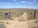 Saddle Mountains (West) - Ridge Road - Locked Gate