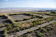 Saddle Mountains (East) - Nike Missile Site - Foundation
