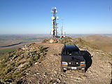 Saddle Mountains (East) - Wahatis Peak - Radio Towers - Jeep WJ