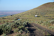 Saddle Mountains (East) - Campers - Wahatis Ridge Road