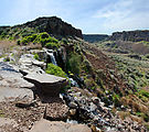 Potholes Coulee - Judith Pool - Waterfall
