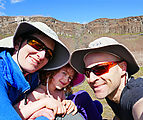Ancient Lakes Hike - Laura - Lyra - Geoff