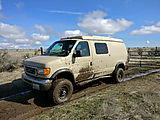 Camping near Duffy Creek - Sportsmobile - Mud