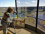 Dry Falls Visitor Center - Telescope - Lyra