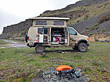 Camping near Trail Lake - Sportsmobile - BBQ - Lyra