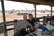 Botswana - Savute Safari Lodge - Geoff and Laura
