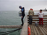Namibia - Swakopmund - On the Jetty - Water Scientists - Old Section