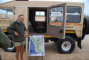 Namibia - Swakopmund - Tommy's Tour - Dunes - Truck - Land Rover 101FC - Tommy