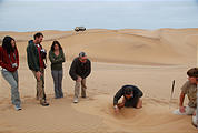 Namibia - Swakopmund - Tommy's Tour - Dunes - Digging