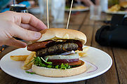 Whitsundays - Long Island Resort - Burger - Beetroot