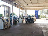 Bruce Highway - Gas Station with Truck