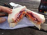 Port Campbell Take Away - Sandwich with Carrot and Beetroot