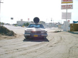 San Felipe - Car with Obnoxious Loudspeaker on Roof