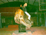San Felipe - Riding Mechanical Bull - Geoff