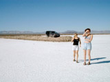 Driving North from San Felipe: Detour to see Salt Flats - Robin, Tracey - Jeep