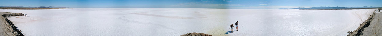 Driving North from San Felipe: Detour to see Salt Flats