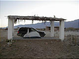 Camp Gecko - Tent Under Palapa (12/31/2001)
