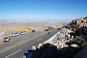 La Rumorosa - Curvy Switchbacks - Sportsmobile