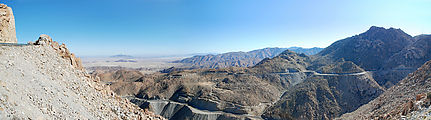 La Rumorosa - Curvy Switchbacks