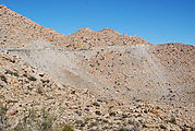 La Rumorosa - Curvy Switchbacks - Wrecked cars fallen from road