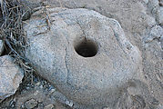 Cañon Guadalupe Area - Grinding Rock Hole
