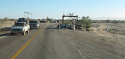 Highway 5 - Military Checkpoint