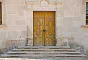 Santa Gertrudis - Mission - Door