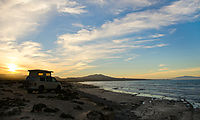 Camping Near El Chevo - Sunset - Beach - Sportsmobile