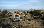 Baja - East Edge of Sierra de Juárez - Viewpoint - Campsite - East of Laguna Hanson - Sportsmobile