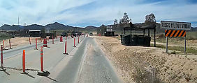 Baja - Military Checkpoint - Highway 3 East of Ensenada