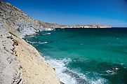 Baja - Ensenada San B - Cliffs
