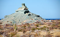 Baja - Las Animas - Green and Pink Rocks
