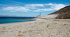 Baja - Punta el Mechudo - Beach - Lighthouse - Fisherman