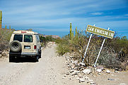 Baja - San Evaristo Sign - Road - Sportsmobile