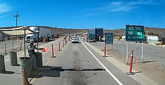 Baja - Military Checkpoint - Highway 1, 60 Miles North of Guerrero Negro