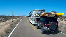 Baja - Road - Passing an RV