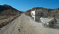 Baja - Highway 5 - Old Road - Camper Truck