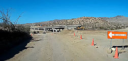 Baja - Highway 5 - Road Construction