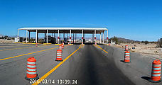Baja - Military Checkpoint - Highway 5, Just South of the Highway 3 Turnoff