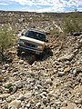 Baja - El Palomar Canyon - Rough Road out of Wash - Sportsmobile