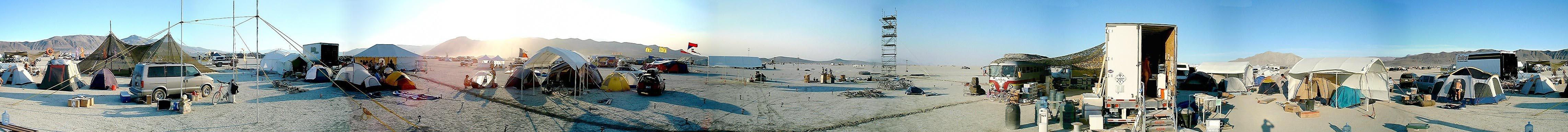 Panoramas Burning Man 2000